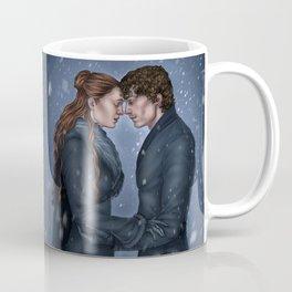 The Reunion of Two Hearts Coffee Mug