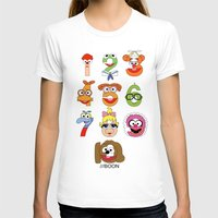 muppet T-shirts featuring Muppet Babies Numbers by Mike Boon