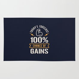 Today's Forecast 100% Chance Of Gains Rug