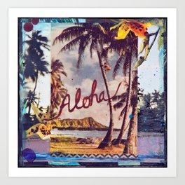 Aloha Waikiki, Hawaii Art Print