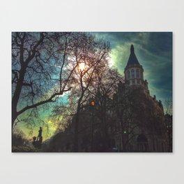 Whitehall Gardens Canvas Print