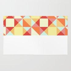 Autumn Breeze Triangle Pattern Rug