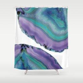 Agate Boho Chic #5 #gem #decor #art #society6 Shower Curtain