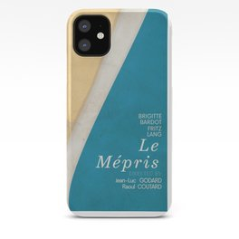 Contempt, Le Mépris, Jean-Luc Godard, Fritz Lang, Brigitte Bardot, french film, new wave, vague iPhone Case