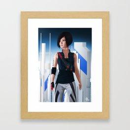 Faith Connors Portrait Framed Art Print