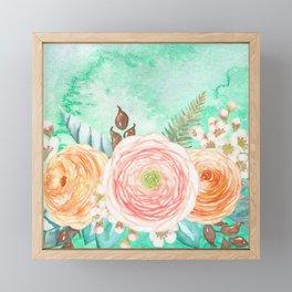 Flowers bouquet 76 Framed Mini Art Print