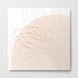 Coit Pattern 33 Metal Print
