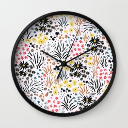 Fall Landscape Wall Clock