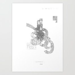 map: '794-1869 Art Print