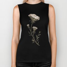 Queen Anne's Lace Biker Tank