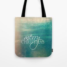 Merry Christmas Fairytale Design Tote Bag