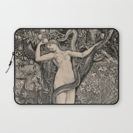 Eve And The Serpent Laptop Sleeve
