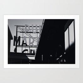 Pike Place Art Print