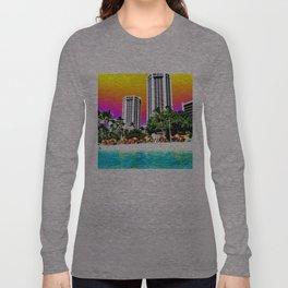Waikiki Beach II Long Sleeve T-shirt