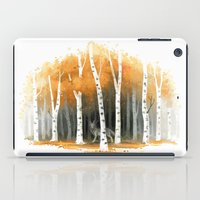 autumn iPad Cases featuring Autumn Wolf by Freeminds