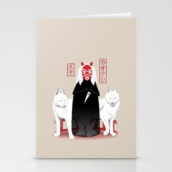 Ouji Kaonashi Stationery Cards