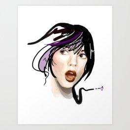 Say A!!! Art Print