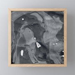 Marble Love 005 Framed Mini Art Print