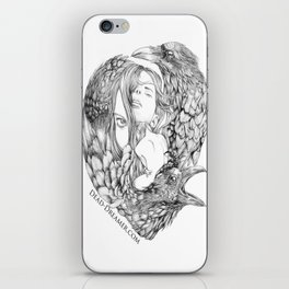 To Dream is to Die - Line iPhone Skin