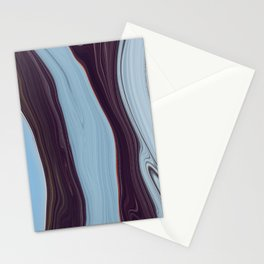 Orange Lining on an Icescape Stationery Cards
