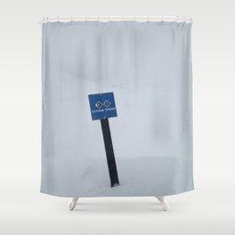 Extreme Terrain Shower Curtain