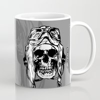 kindle Mugs featuring 101 by ALLSKULL.NET
