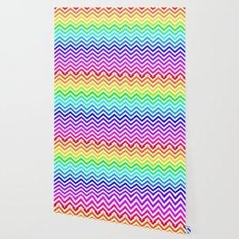 Raibow pattern lines Wallpaper