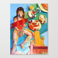 Dinner For Two Canvas Print