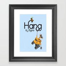 Pixar/Disney Wall-e Hang in There Framed Art Print