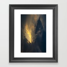 Extant/Exit Framed Art Print