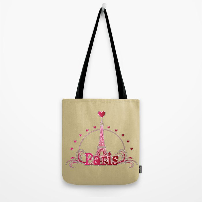 Paris love Tote Bag