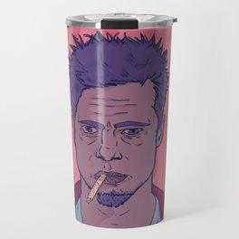Tyler Durden by FrameIlustrado Travel Mug