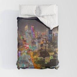 City Under Construction Comforters