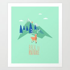 Back to Nature Art Print