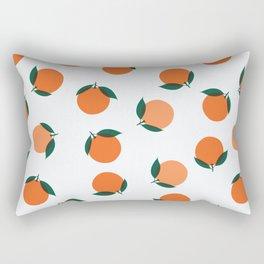 Peaches & Oranges Rectangular Pillow
