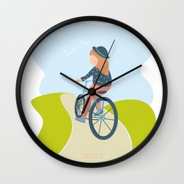 sunny sunday Wall Clock