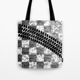 Flag Skid Mark Tote Bag
