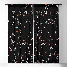 Terrazzo Modern Collage 02 Blackout Curtain