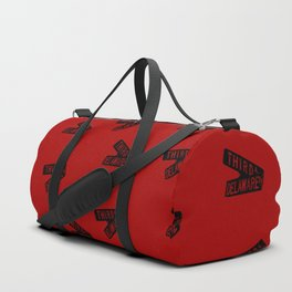 Roseanne - Third and Delaware - Sign - Pattern Duffle Bag