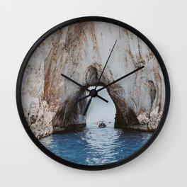 capri, italy ii Wall Clock