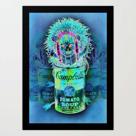 Kitty Pop Art Print