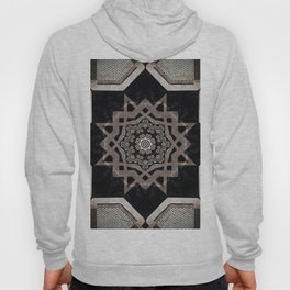 Modern Decorative Pattern Star Mandala Hoody