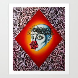 Stagnation of the soul Art Print
