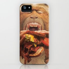 No More Fast Food iPhone Case