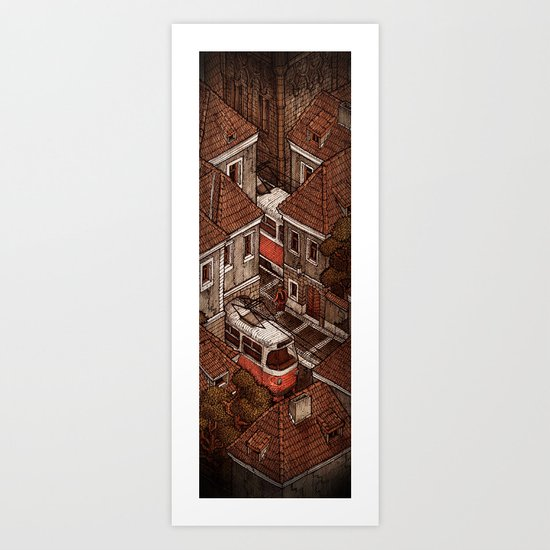 Bohemia 2/2 Art Print