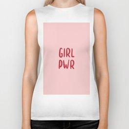 GIRL PWR Biker Tank