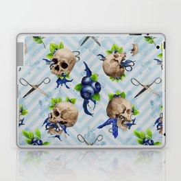 Blue Is Bleeding Through Laptop & iPad Skin