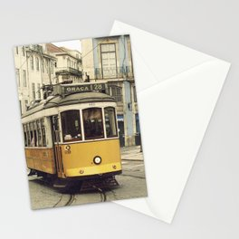 Tram numero 28 Stationery Cards