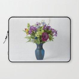 Floral Blue Vase Laptop Sleeve