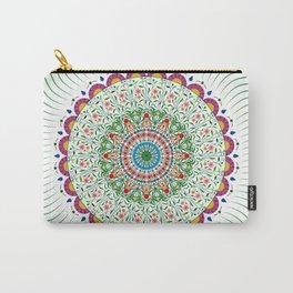 BOHEMIAN MANDALA CIRCLE DESIGN Carry-All Pouch